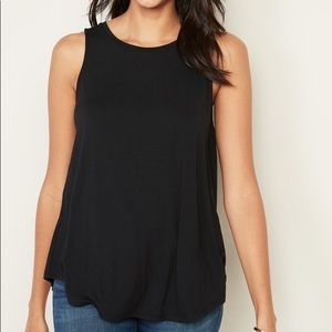 Luxe High-Neck Swing Tank for Women